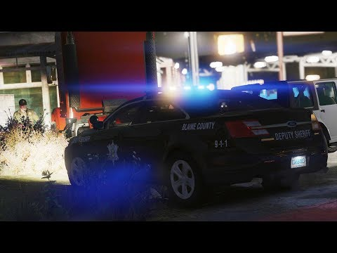 LSPDFR - Day 901 - Truck Driver out of Control (Richland County)