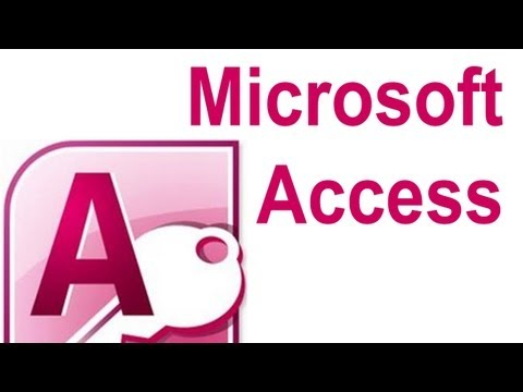 Microsoft Access Queries Tutorial 1 - Creating a new Query