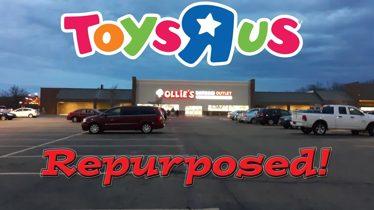 Abandoned Toys R Us Reopens As Ollie S Bargain Outlet