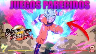 TOP 5 JUEGOS PARECIDOS A DRAGON BALL FIGHTERZ PARA ANDROID