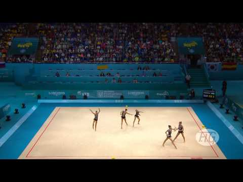 2013 Rhythmic Worlds - Kiev, Ukraine - Group All-around Final - We are Gymnastics!