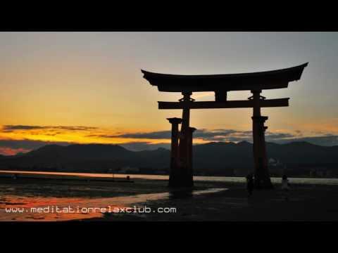 Japanese Meditation   8 HOURS Relaxing Music and Oriental Flute Music (Tibetan Bells)