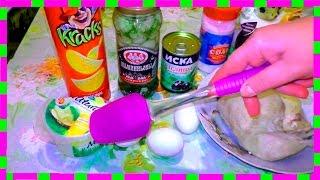 Вкусняшки от Любашки, Салат Подсолнух
