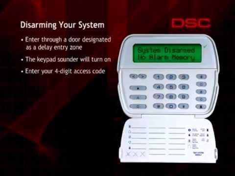 dsc alarm keypad user manual