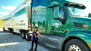 Download Filipina/Female Truck Driver Connecting Double Trailers Mp3 and Videos