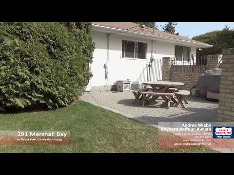291 Marshall Bay in West Fort Garry Winnipeg