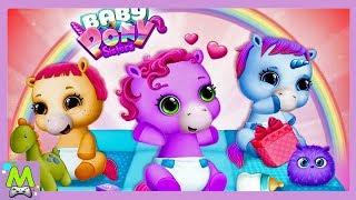 Сестрички-Пони Милые Малыши/Baby Pony Sisters.Няня для Маленьких Лошадок.Мульт Игра