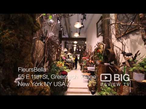 Fleurs Bella Florist Shop In New York NY Offering Flower Design And Arrangement