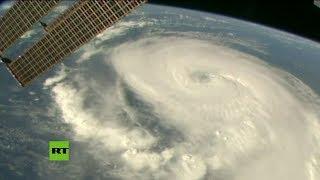 Graban al huracán Dorian desde la Estación Espacial Internacional