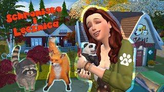 The Sims 4 🐾 Zaklinaczka Zwierząt 🐾 • Schronisko i Lecznica Dzikich oraz Domowych Zwierząt • 🐾