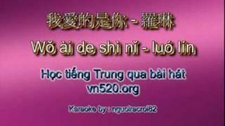 我愛的是你 - 羅琳 Wǒ ài de shì nǐ - luó lín (Tình lỡ cách xa - Mỹ Tâm).flv