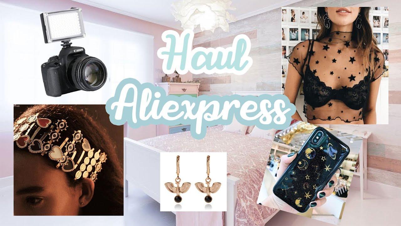 HAUL ALIEXPRESS FEBRERO 2020   Fundas, ropa, cámara, joyería...   Pat Sánchez ♡