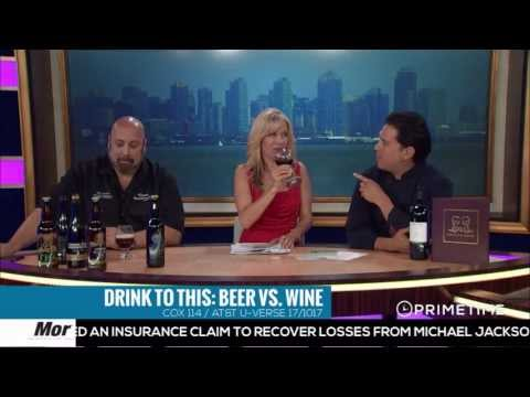 Drink To This: Beer vs. Wine