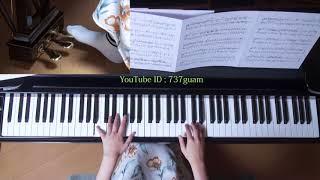使用楽譜;月刊ピアノ2017年10月号、 採譜者:渋谷絵梨香(ぷりんと楽譜...