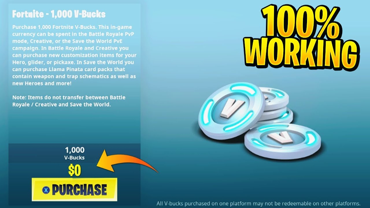New How To Get Free V Bucks In Fortnite Season 9 Fortnite Vbucks