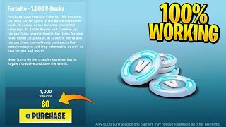 *NEW* How To Get FREE V-BUCKS In Fortnite Season 9! (Fortnite VBucks Glitch)