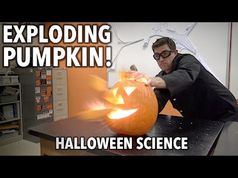 Exploding Pumpkin - Halloween Science Experiments