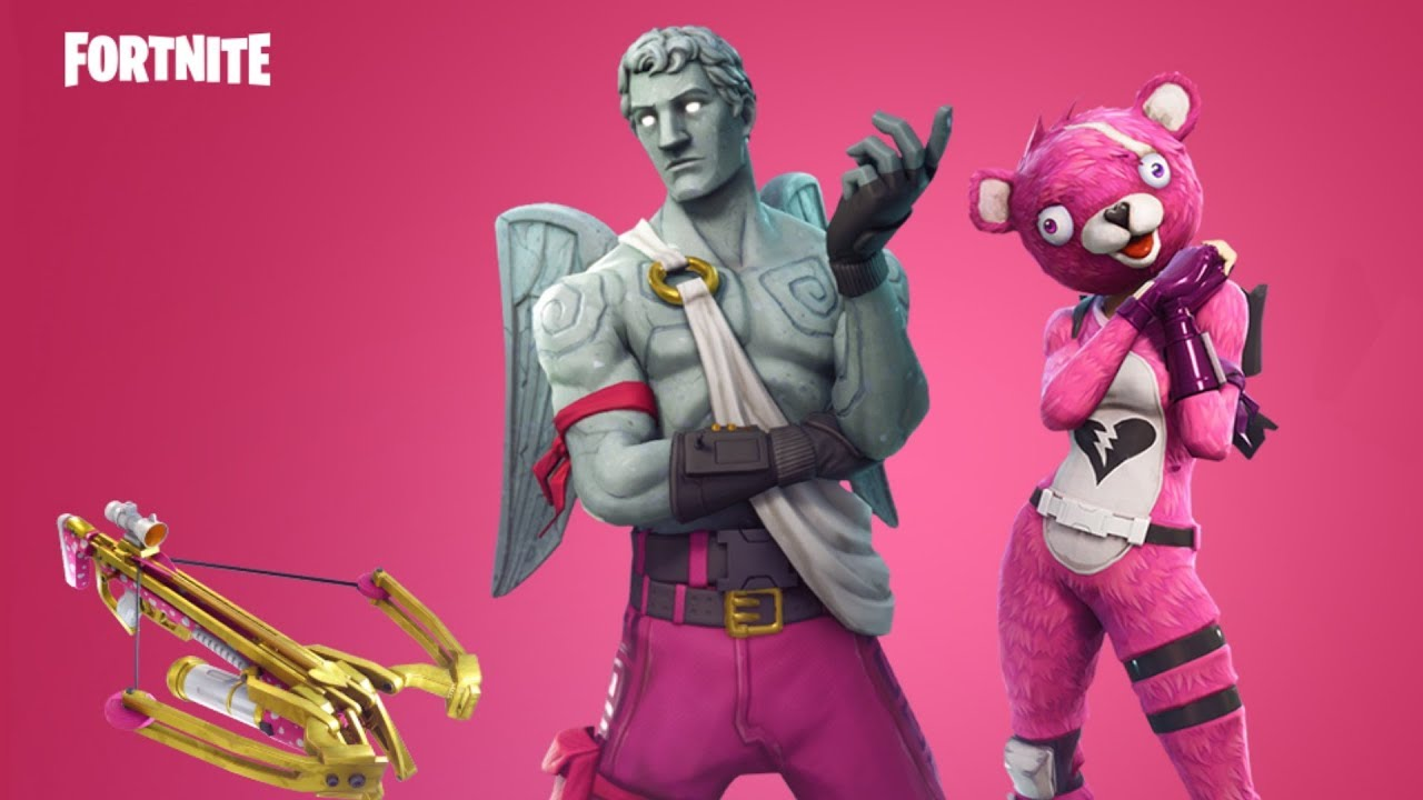 2 New Valentines Day Skins And New Crossbow