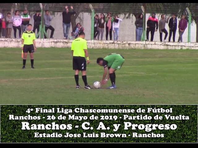 Atlético Ranchos vs Progreso de Brandsen - Tanda de Penales