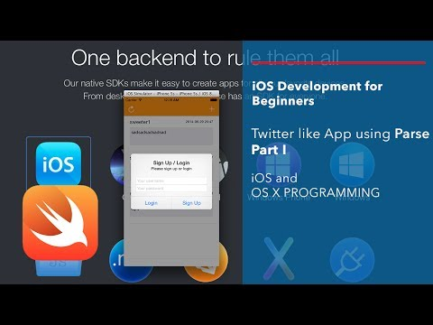 iOS and Swift Beginner Tutorial: App like Twitter using Parse Part 1