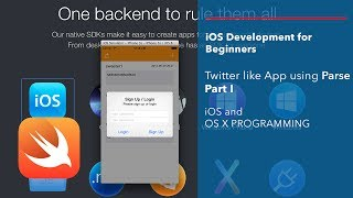 iOS and Swift Beginner Tutorial: App like Twitter using Parse Part 1