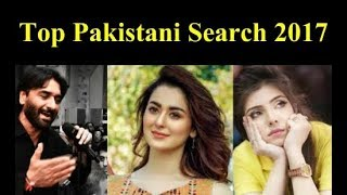 Top 10 Most Searched People On Google In Pakistan