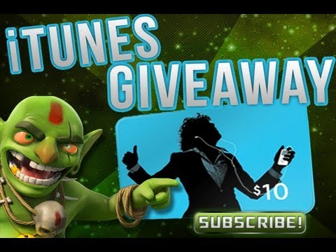 Free gems - free iTunes gift card - clash of clans - CoC Gems