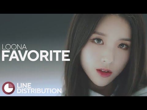 LOONA/LOOΠΔ - FavOriTe (Line Distribution)