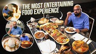 The Most Entertaining Food Experience at Ala Rahi | Junaid Akram
