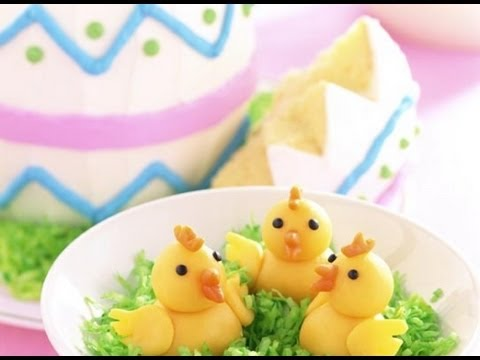 How To Decorate An Easter Cake Youtube