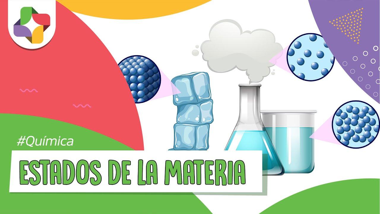 Estados De La Materia Quimica Educatina Youtube