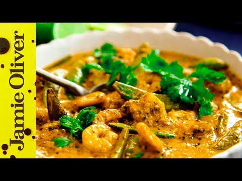 Thai Red Curry With Prawns Jamie Oliver Youtube