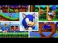 Evolution Of First Levels In Sonic The Hedgehog 2D Platformer Games (1991-2017)
