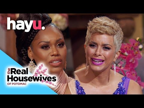The Robyn Meme Arguement Resolved? | Reunion Season 3 | Real Housewives of Potomac