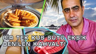 I went to have breakfast in Maldives, which they said was missing only bird's milk - Kurumba