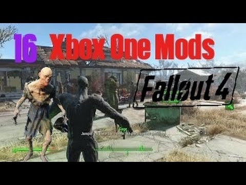 Fallout 4 Xbox One Mods|16|Playable Feral Ghoul,Nukalurk Relay Grenade,Dragons Breath Pistol