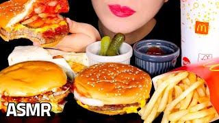 맥도날드 햄버거 먹방 쿼터파운더치즈버거 더블불고기버거 …