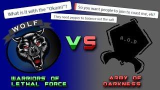 [ROBLOX] W.O.L.F VS A.O.D Argument