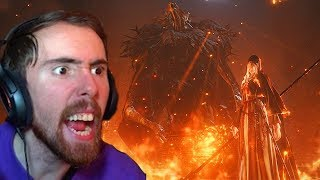 Asmongold Gets INVADED And RAGES Dying To Sister Friede In Dark Souls 3 - Day 5