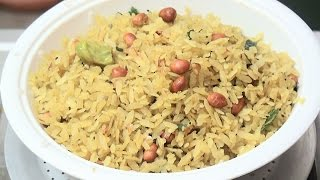 Beaten Rice Break fast Snack - Flattened Rice Recipe - Making