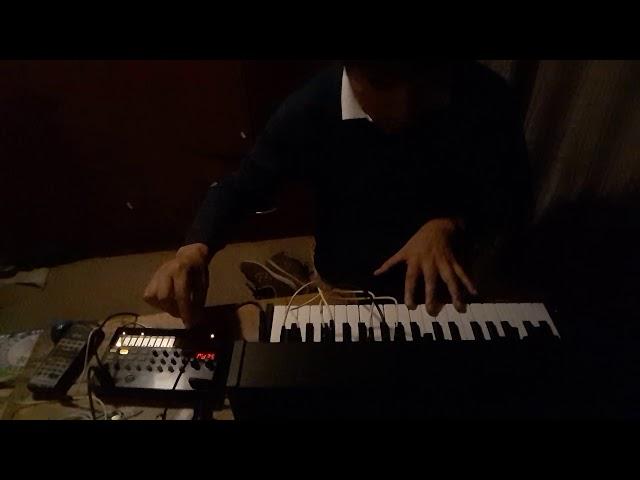 MS-20 autosecuencia + volca beats