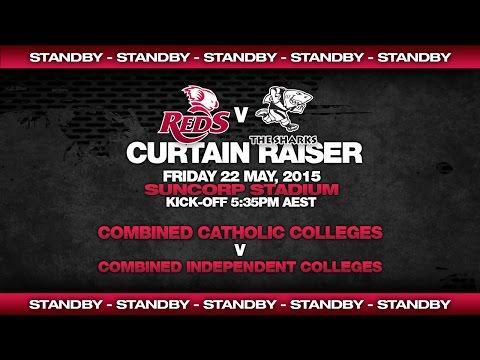 St.George Queensland Reds vs Sharks - Curtain Raiser + Pre-game Show