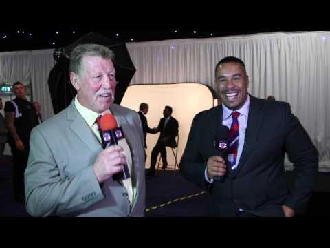 Rugby AM meet legendary footballer Pelé