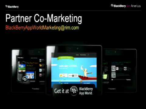 Promotion and Monetization Strategies with BlackBerry App World