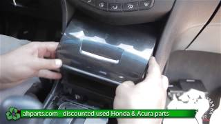 How to replace / change Center Pocket Holder for a 2003 2004 2005 2006 2007 Honda Accord REPLACE DIY