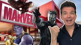 Butch Hartman Working at Marvel Studios!
