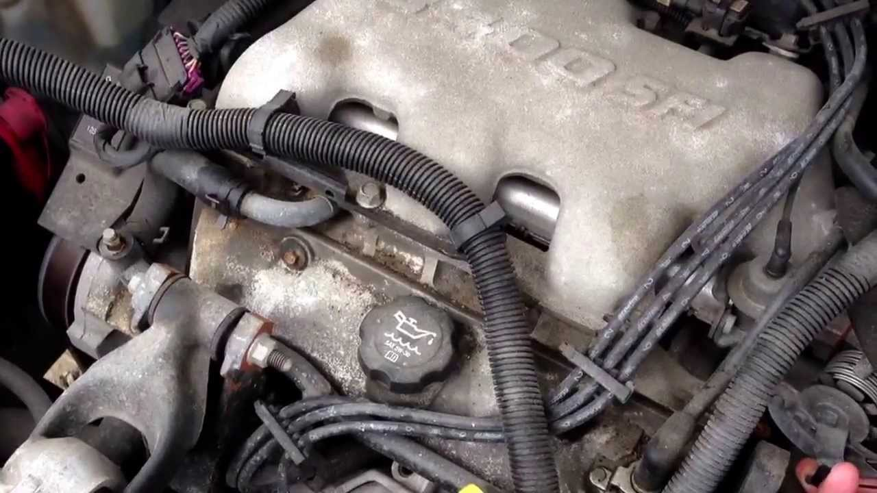 D5bu202 2005 Buick Rendezvous Engine Test