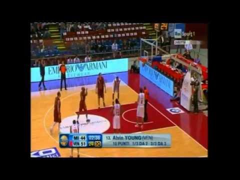 Alvin Young - Reyer Venezia Campionato Serie A 2012/2013 (dopo 11 giornate)