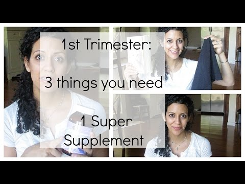 First Trimester: Minimize Your Buys   One Super Supplement