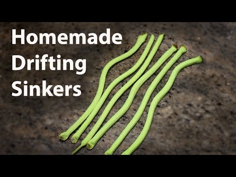 How To Make Drifting Sinkers For Catfish